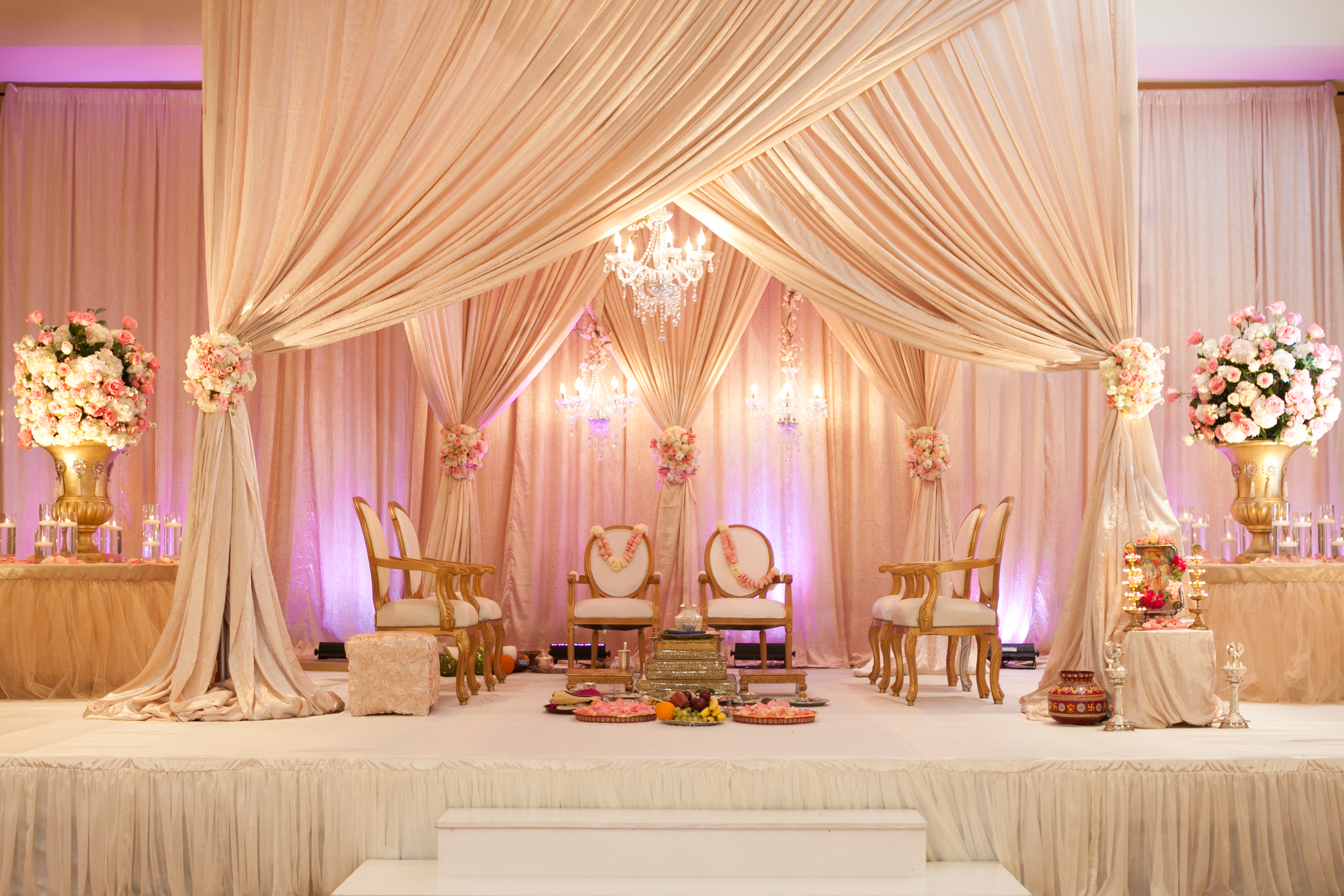 Niche markets with indian jewish fusion weddings with for American wedding stage decoration