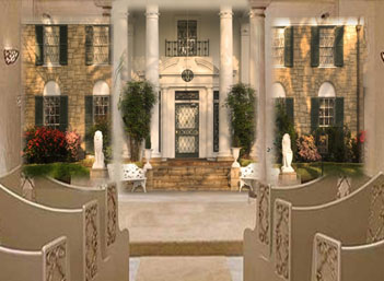 Opening Of Elvis Presley S Graceland Wedding Chapel To Be Broadcast Live On Nbc Today Show