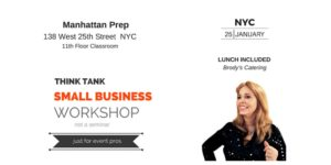 Think Tank Small Business Workshop NYC @ Manhattan Prep | New York | New York | United States