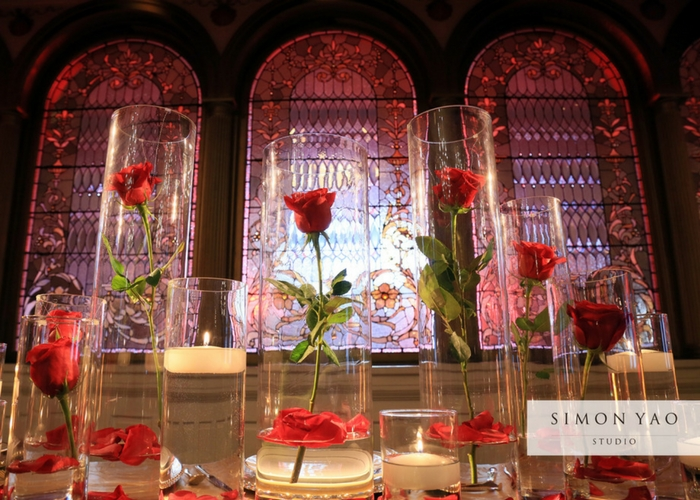 Beauty And The Beast Themed Wedding.Schneider S Florist Be Our Guest A Luxurious Beauty And The Beast