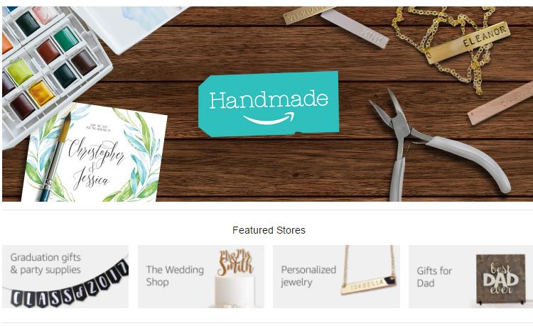 Handmade At Amazon Introduces The Wedding Shop Wedding