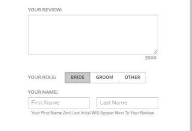How Do You Deal With False Wedding Reviews?